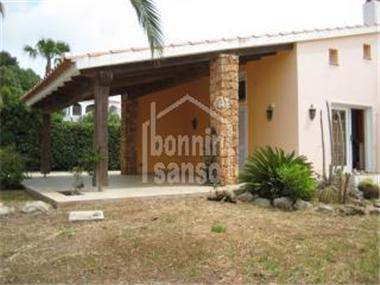 Villa for sale in Binibequer Vell