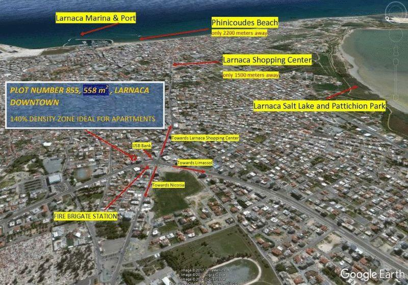 Land/Ruins for sale in Larnaca
