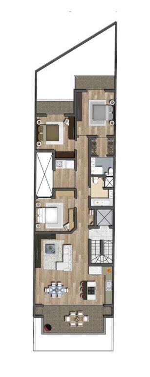 Penthouse for sale in Marsaskala