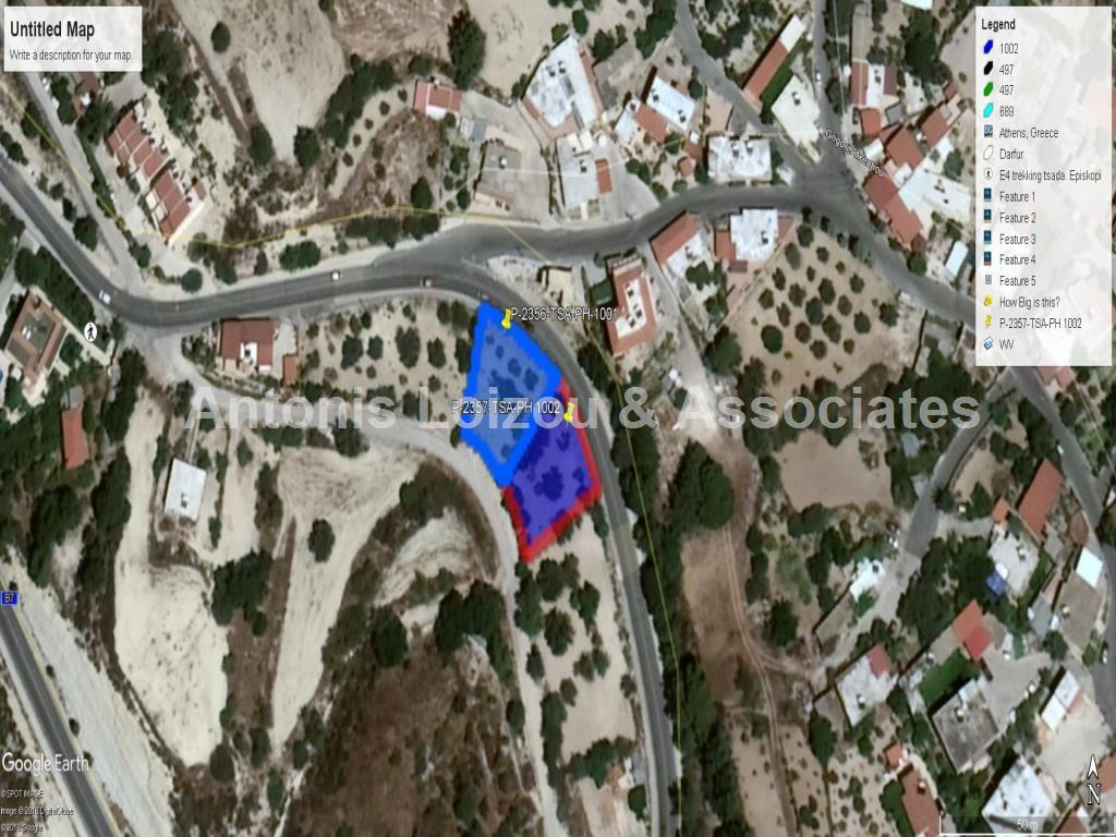 Land/Ruins for sale in Tsadha
