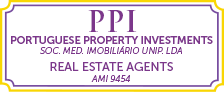 Portuguese Property Investments - Real Estate Agents Logo